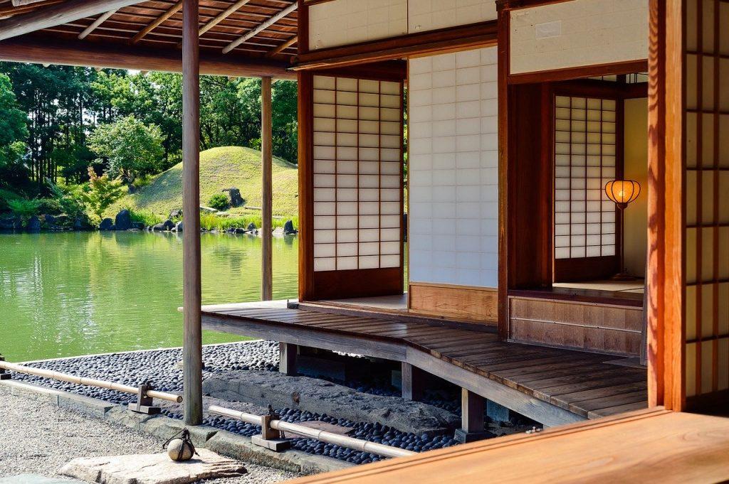 landscape, garden, japan